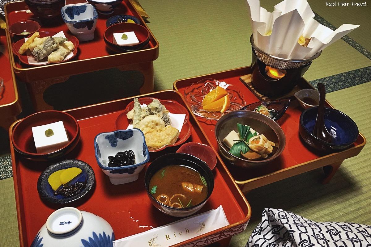 Сёдзин рёри, ужин в шукубо, Коясан