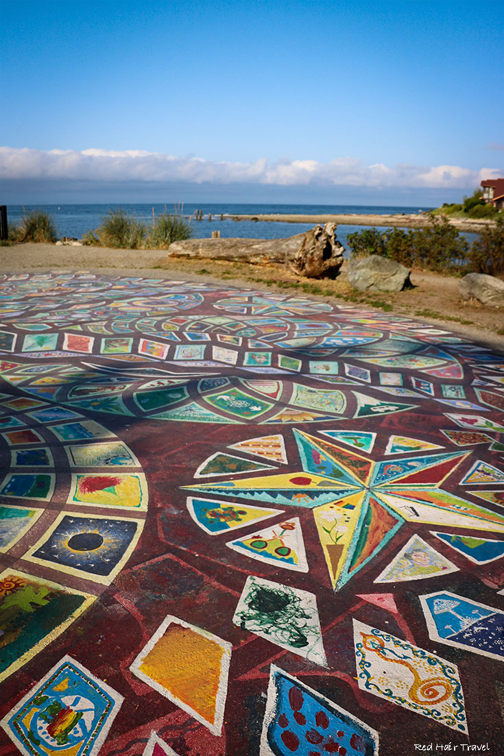 Roberts Creek Mandala, Sunshine Coast, саншайн кост