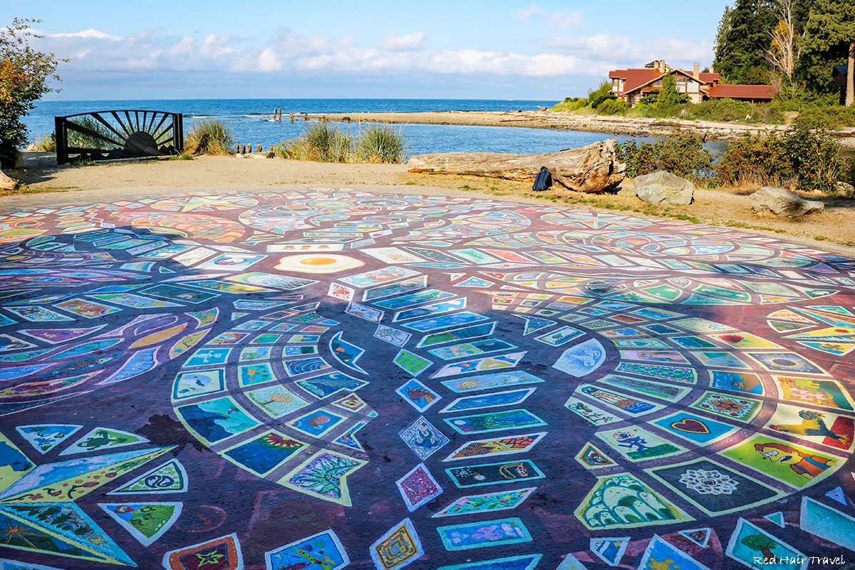 Roberts Creek Mandala, Sunshine Coast