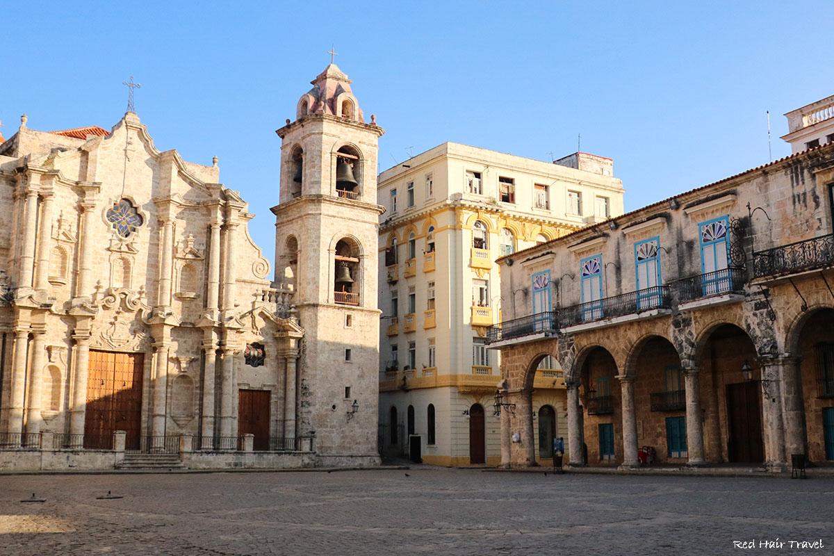 Соборная площадь, Гавана, Куба