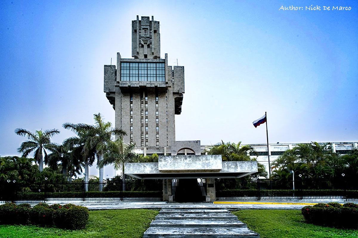 Русское посольство на Кубе