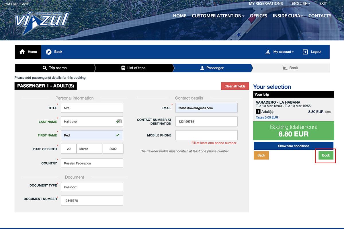 купить билеты на Viazul онлайн