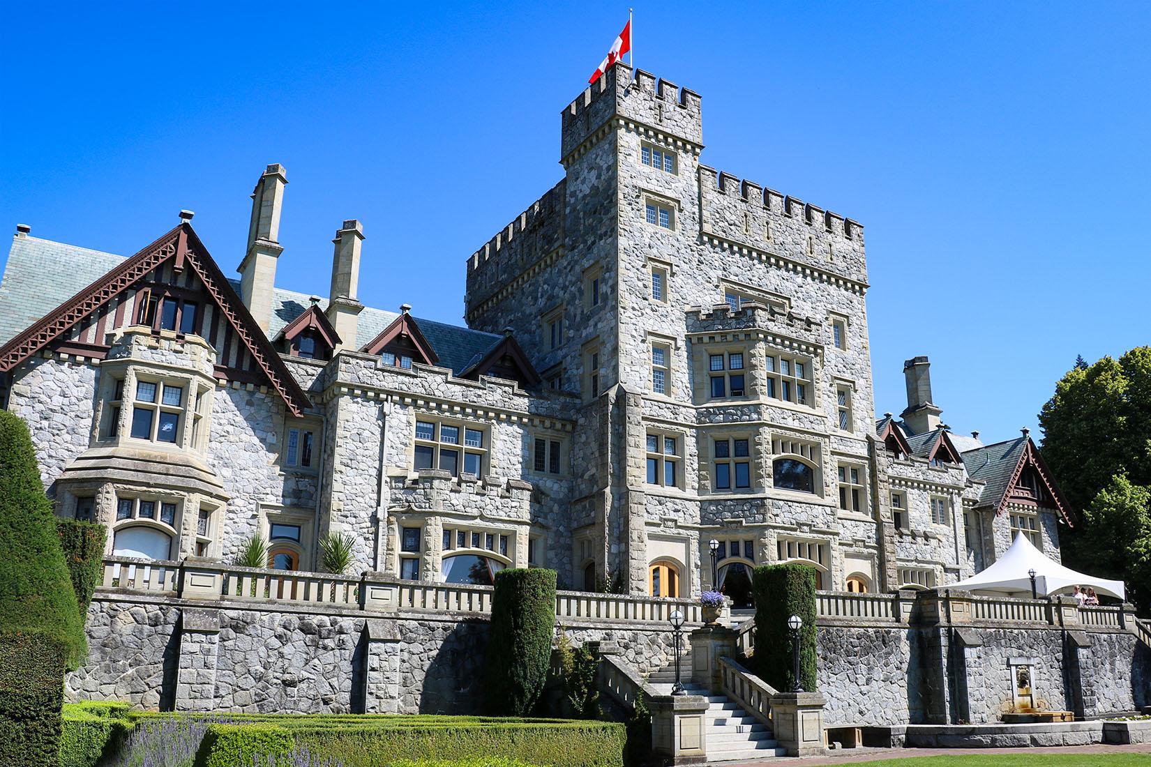 Хатли Замок в Виктории