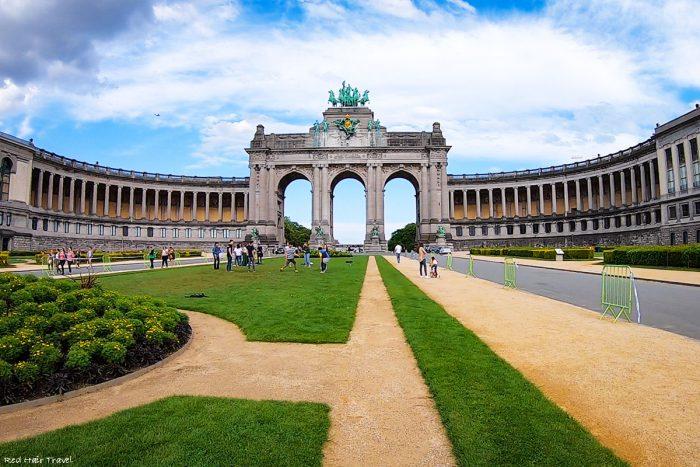 парк 50-летия, Брюссель