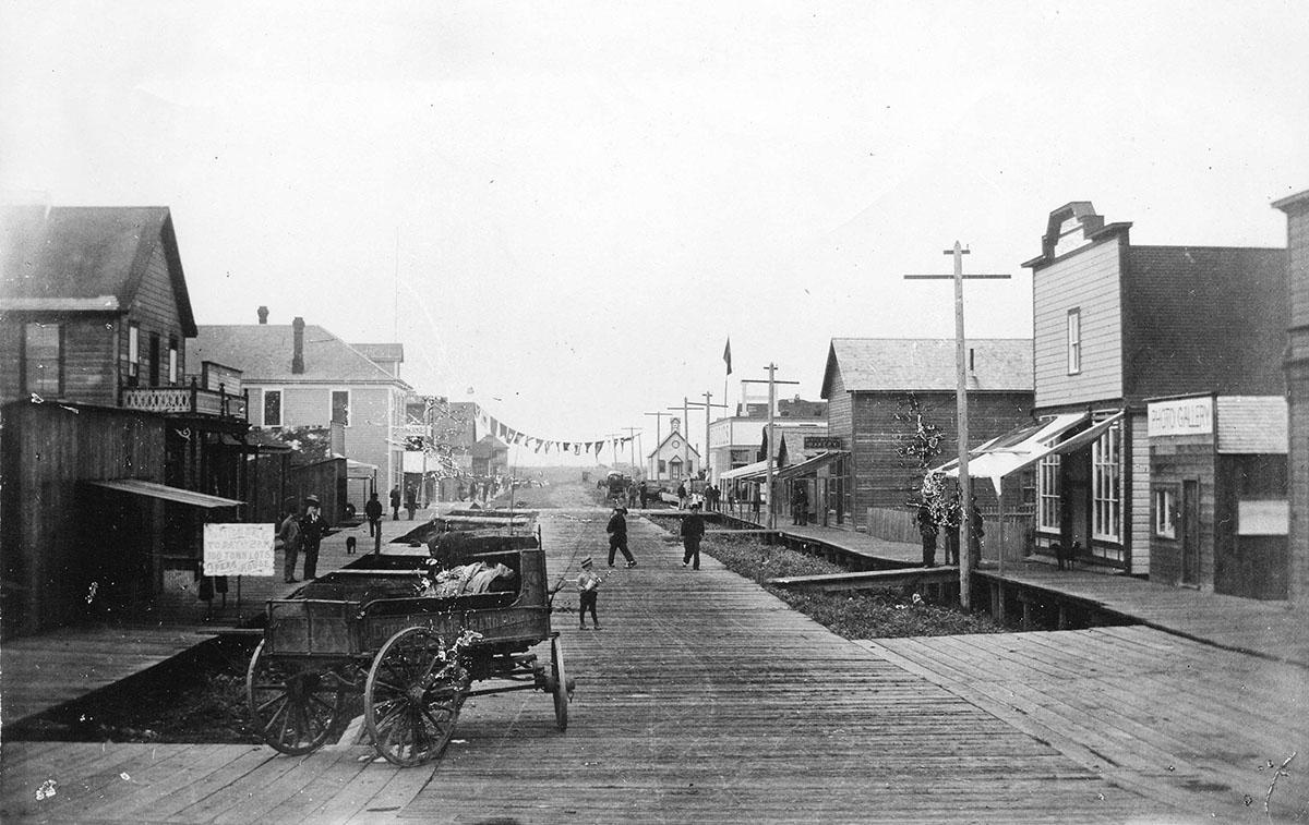 Стивстон, Вторая авеню, 1898 год