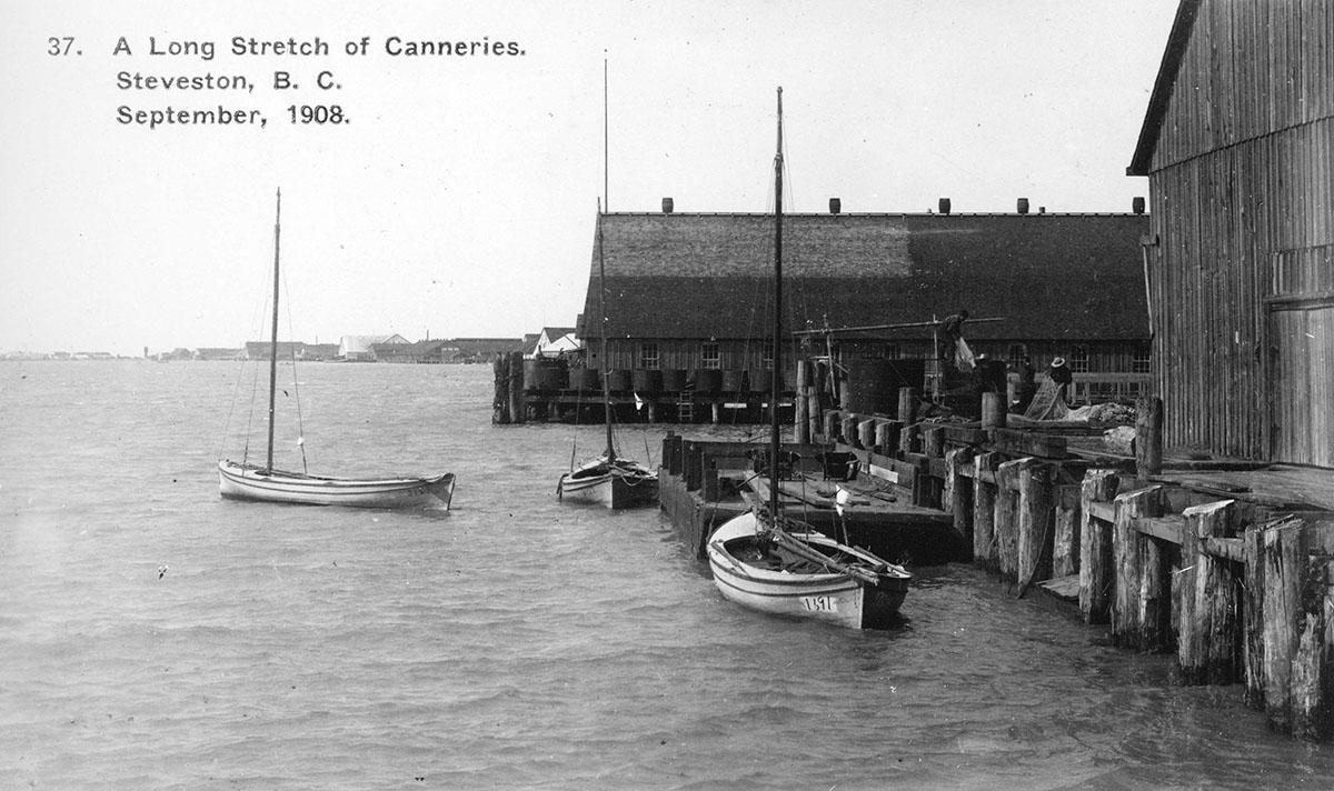 Консервные заводы, Steveston, B.C., 1908