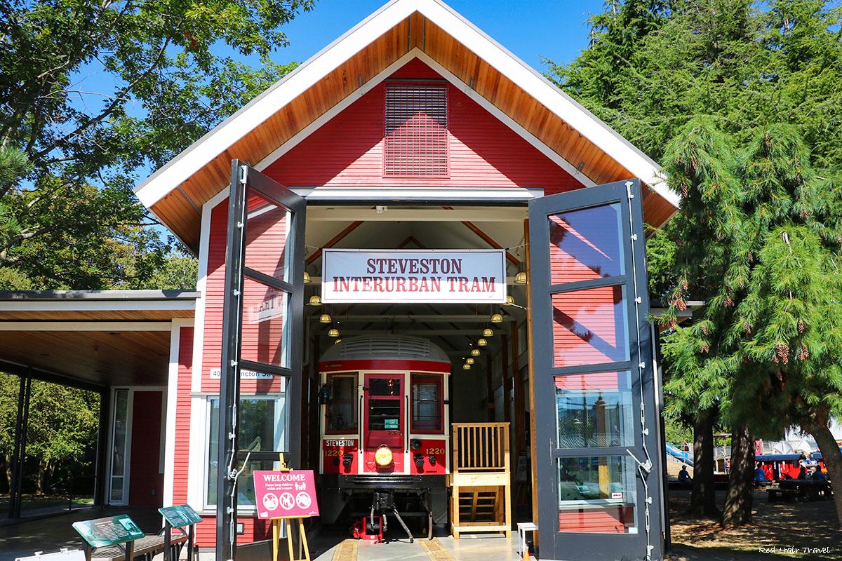 Interurban Tram Building, Steveston