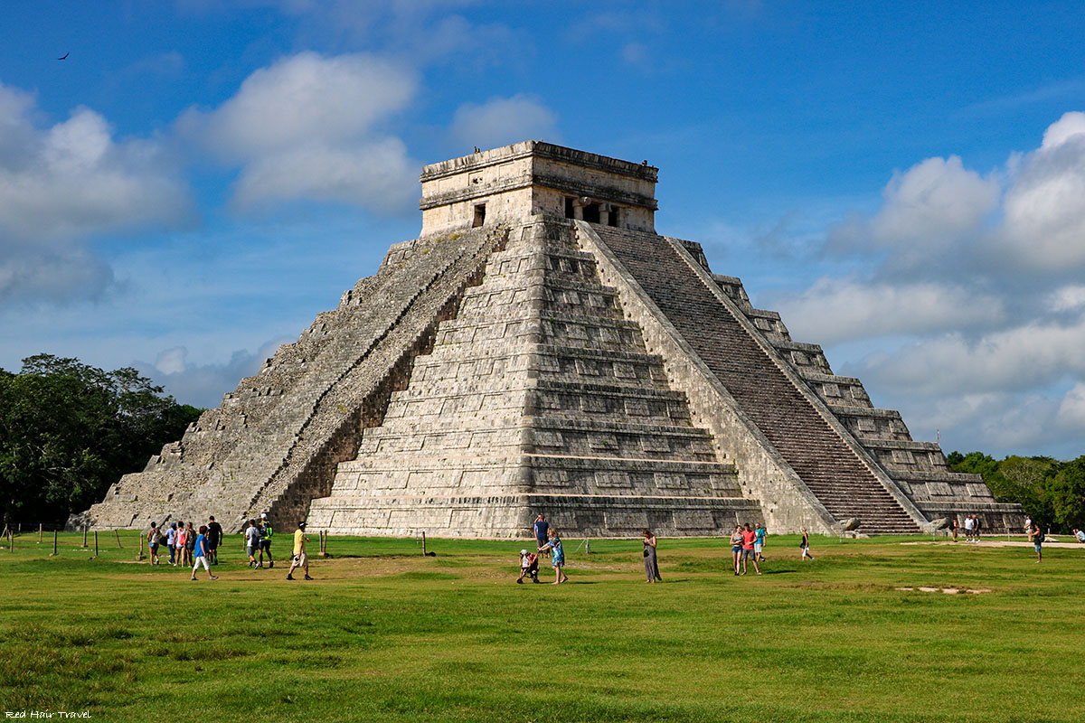 Пирамида Кукулькан, Чичен-Ица, Мексика