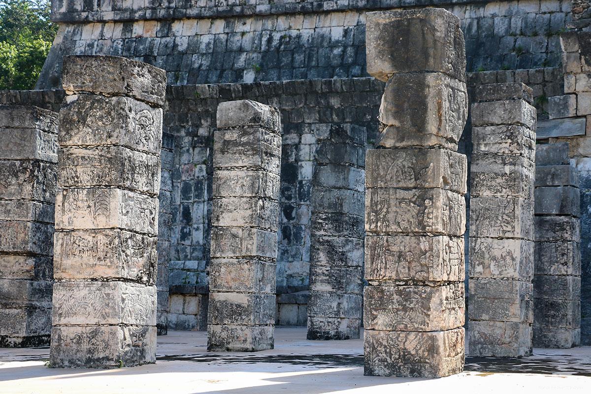 Чичен Ица, Храм Воинов