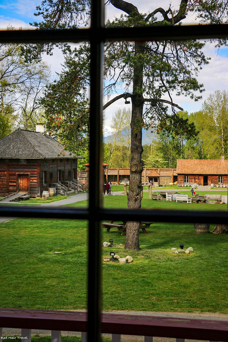 Big House, Fort Langley, view