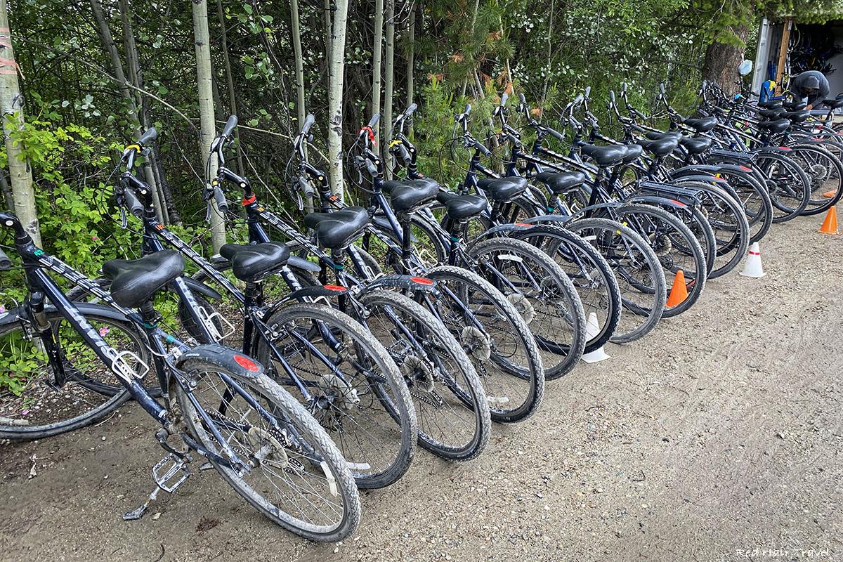 Myra Canyon Kelowna bike rent