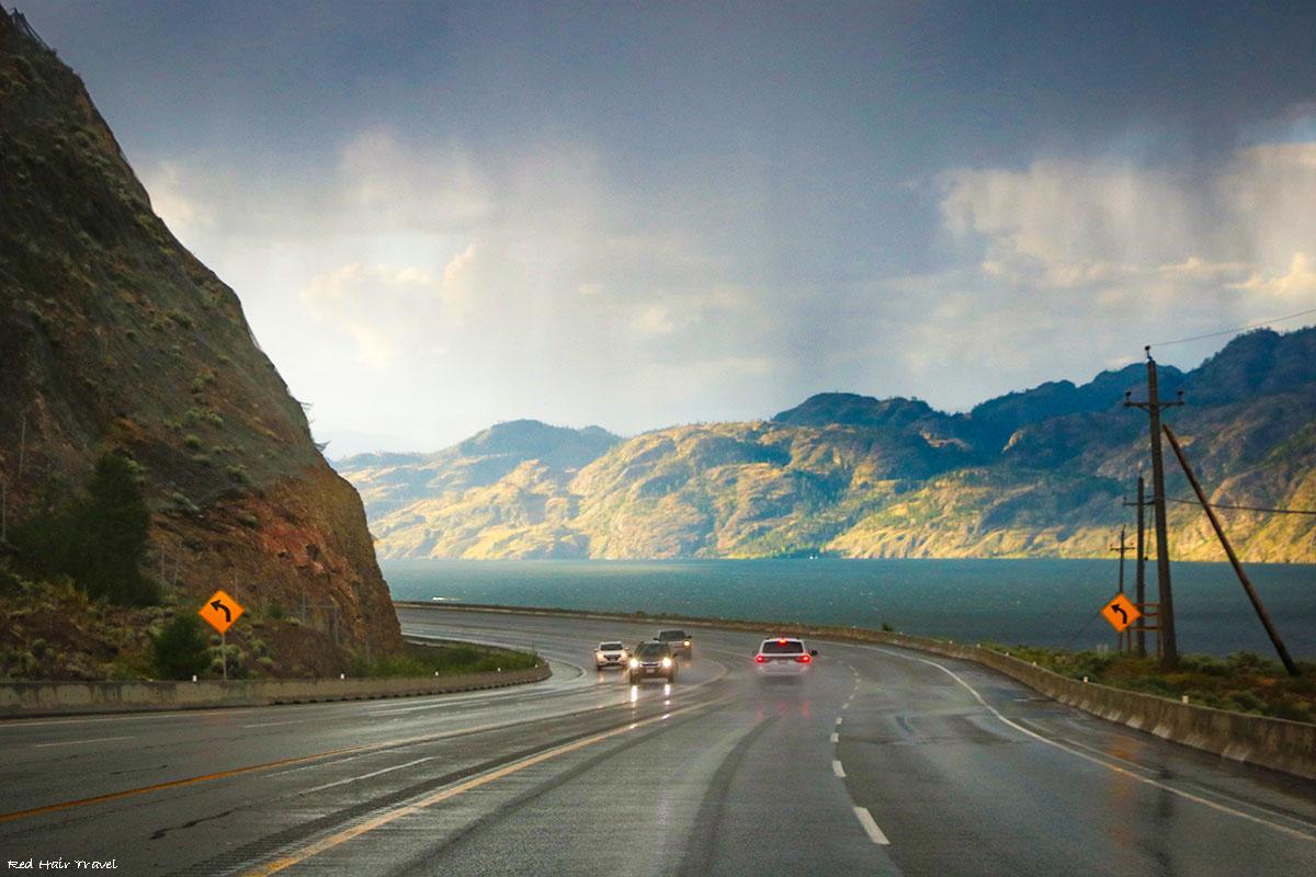 road to Kelowna