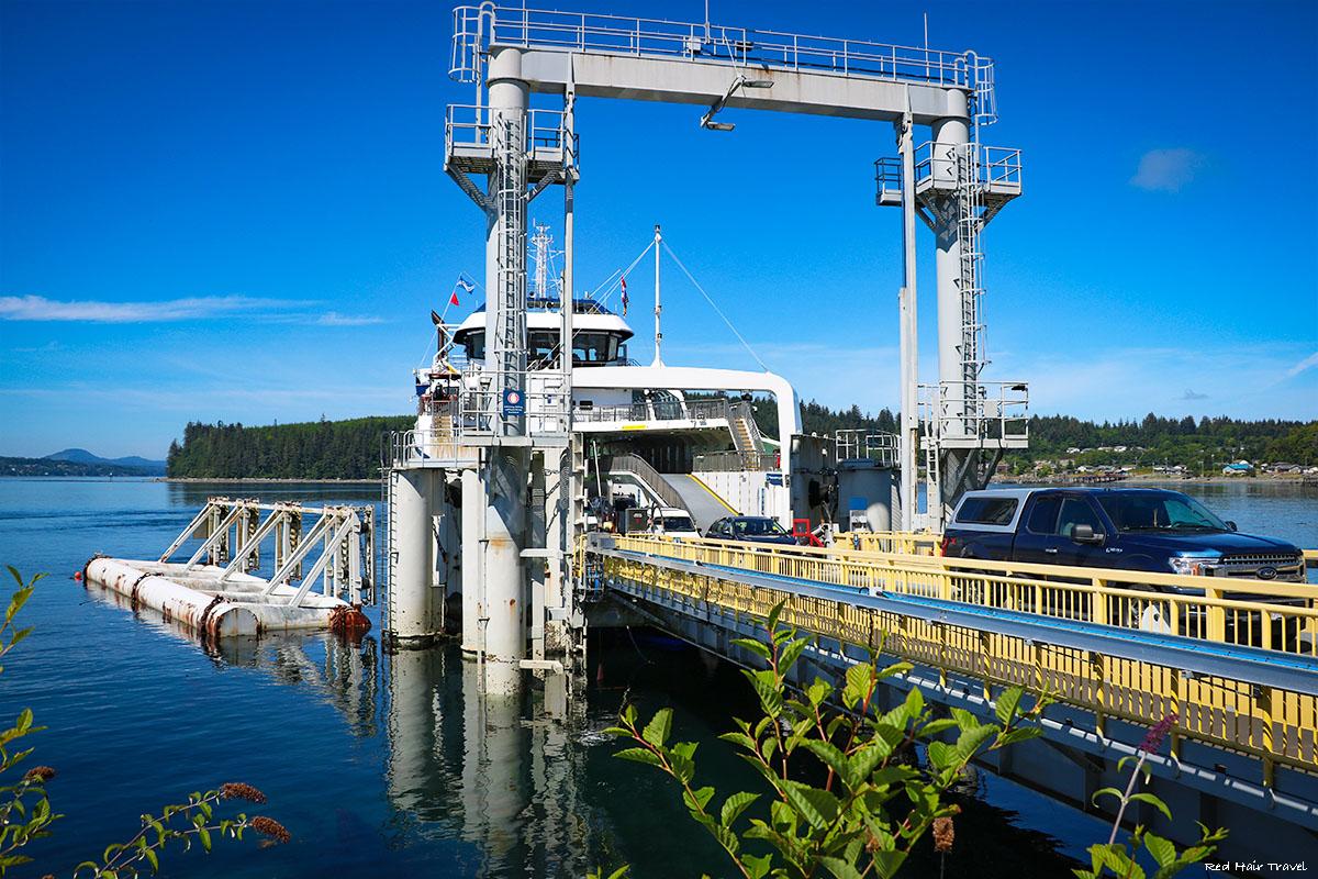 Alert Bay ferry terminal