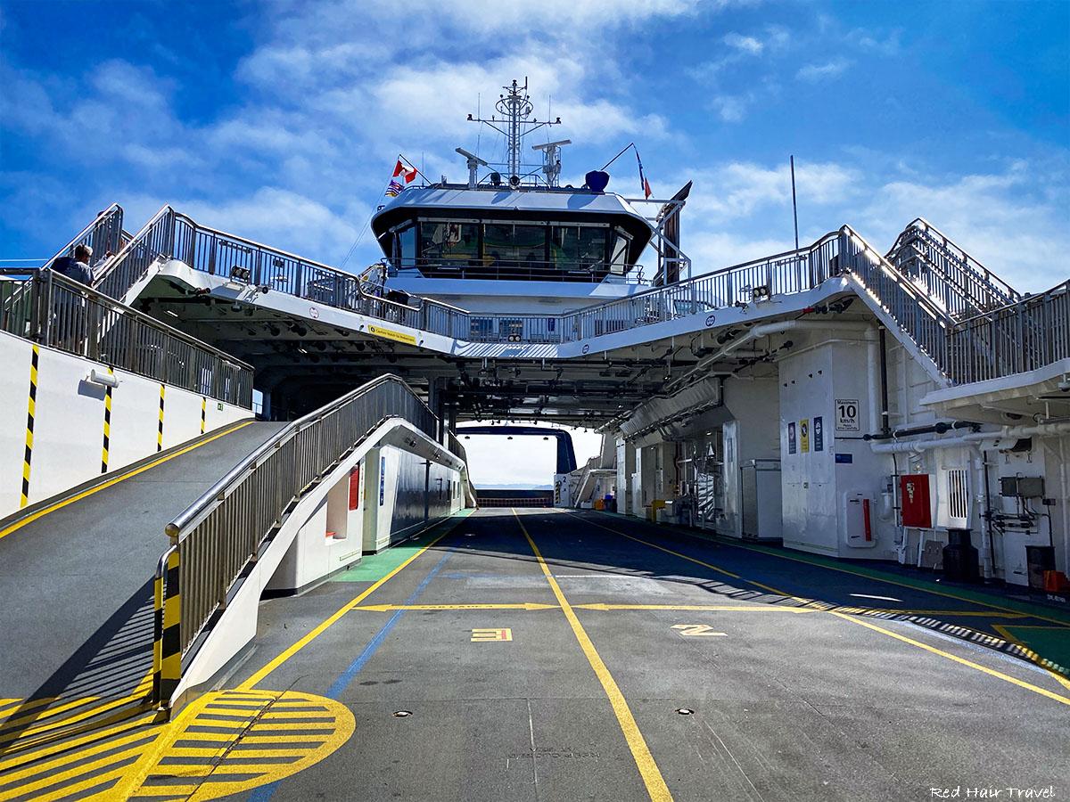 Alert Bay, ferry