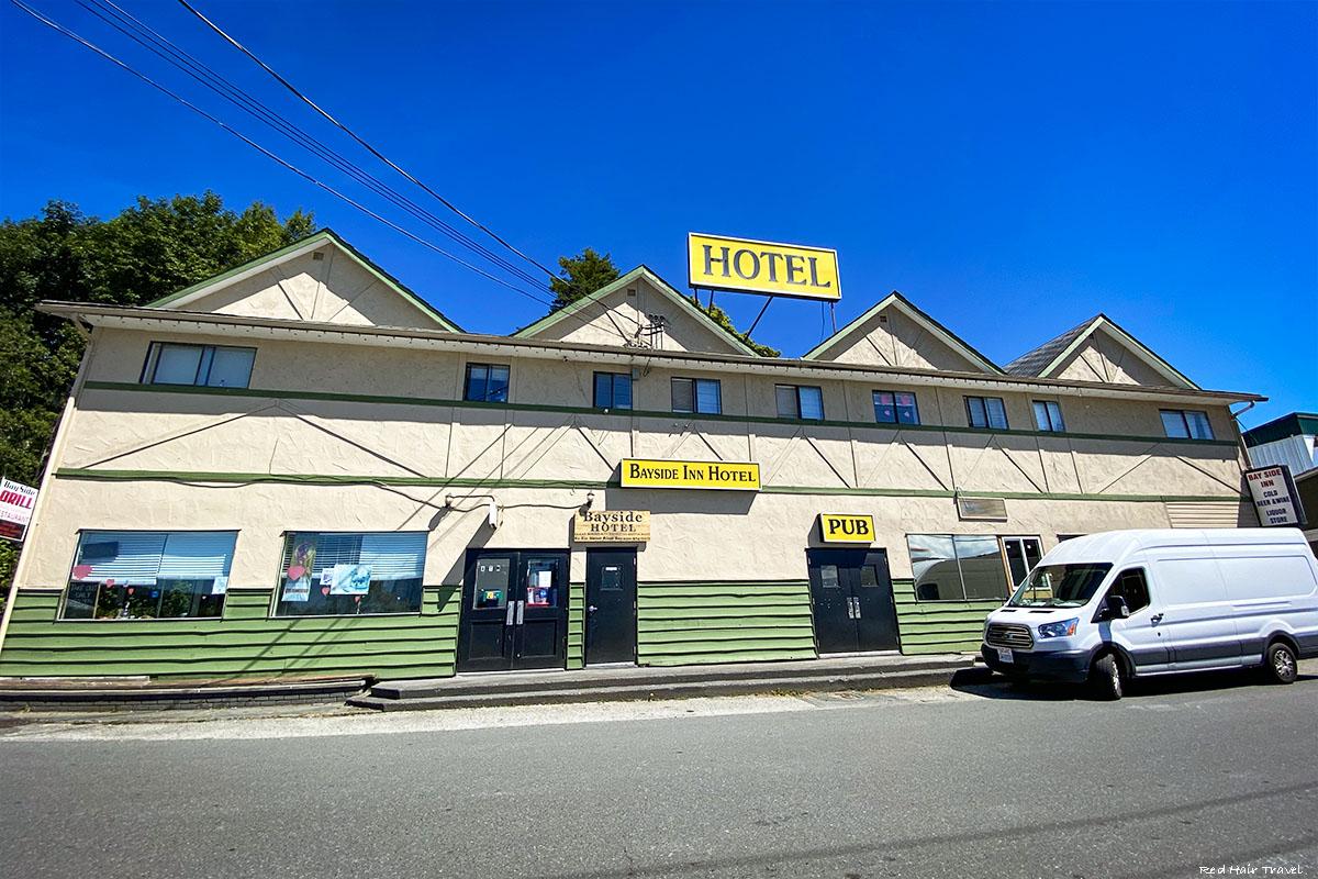 Alert Bay hotel