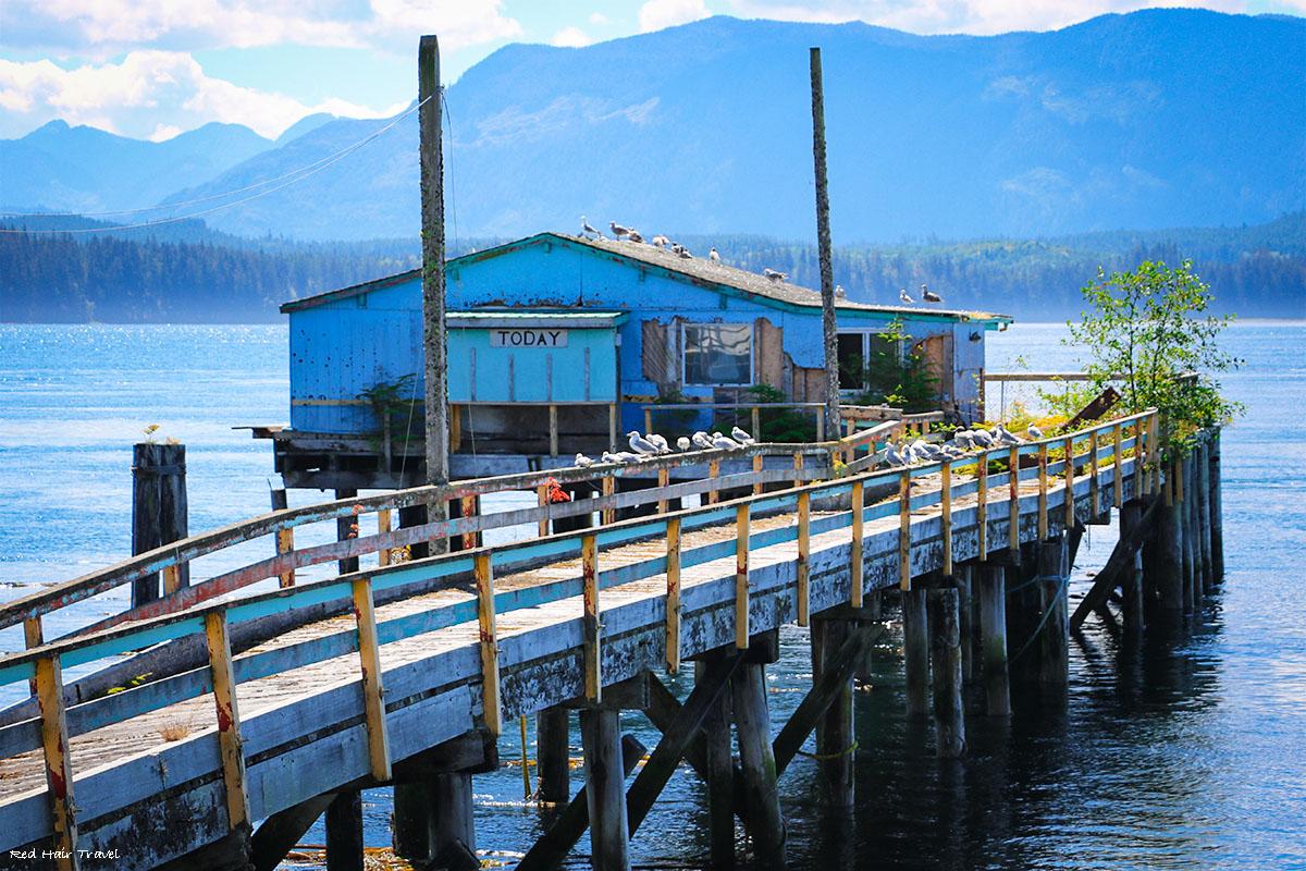 Alert Bay, North Vancouver Island