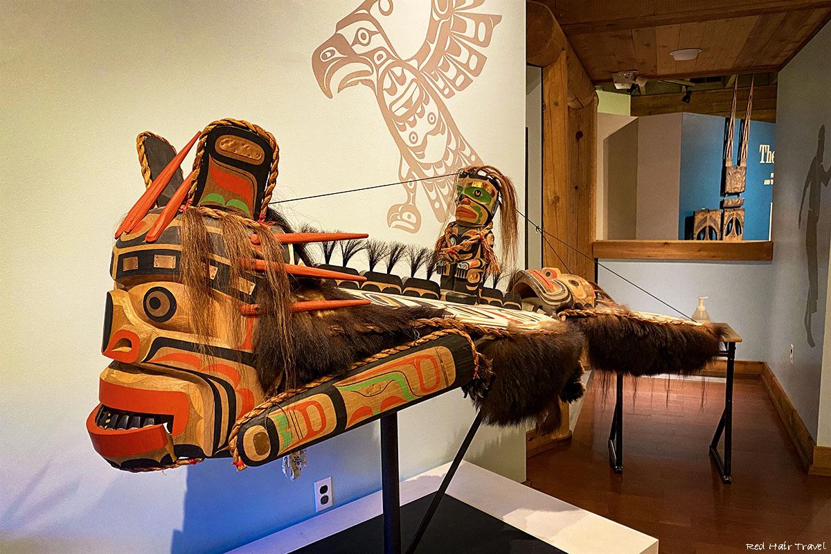 Alert Bay, U'mista Cultural Centre, North Vancouver Island