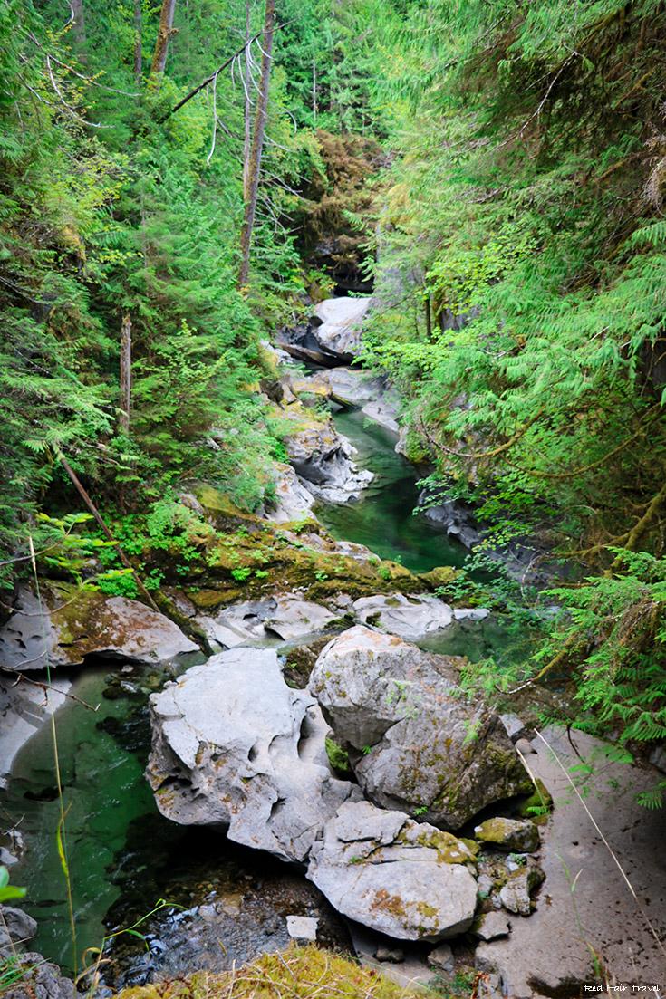 Little Huson Caves, North Vancouver Island