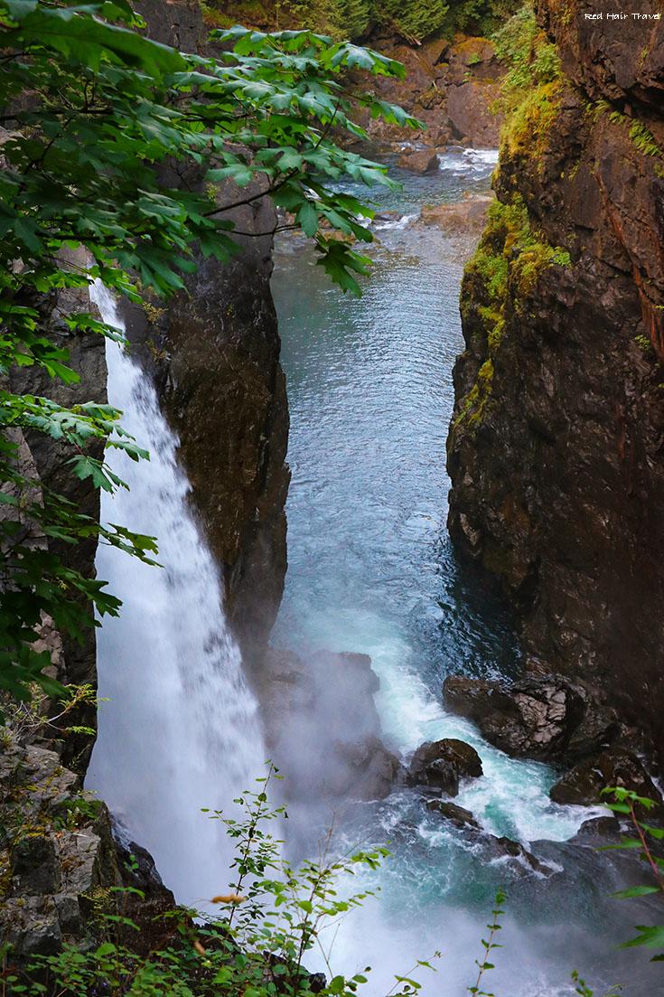 Elk Falls, Campbell River, Vancouver Island