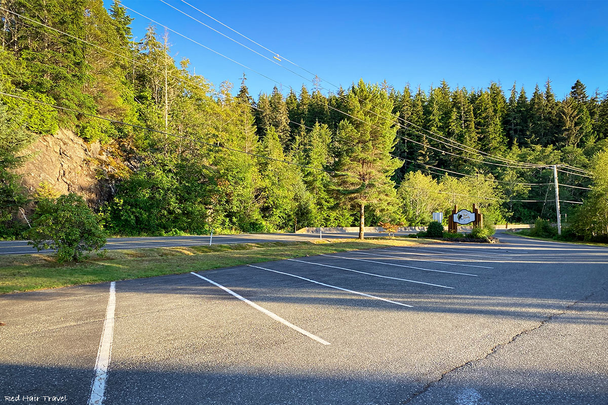 Dakota 576 Crash Site Trail parking