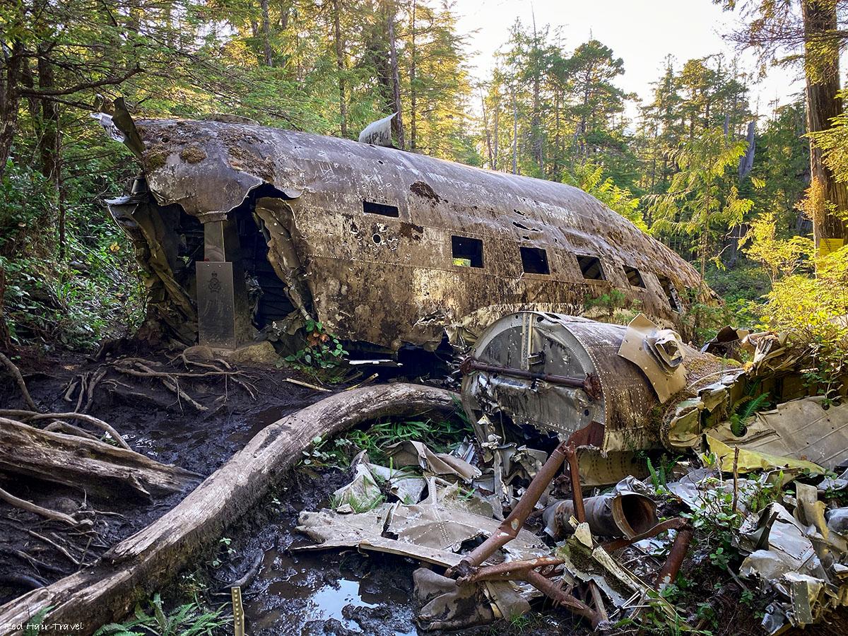 Dakota 576 Crash Site Trail, Port Hardy, North Vancouver Island