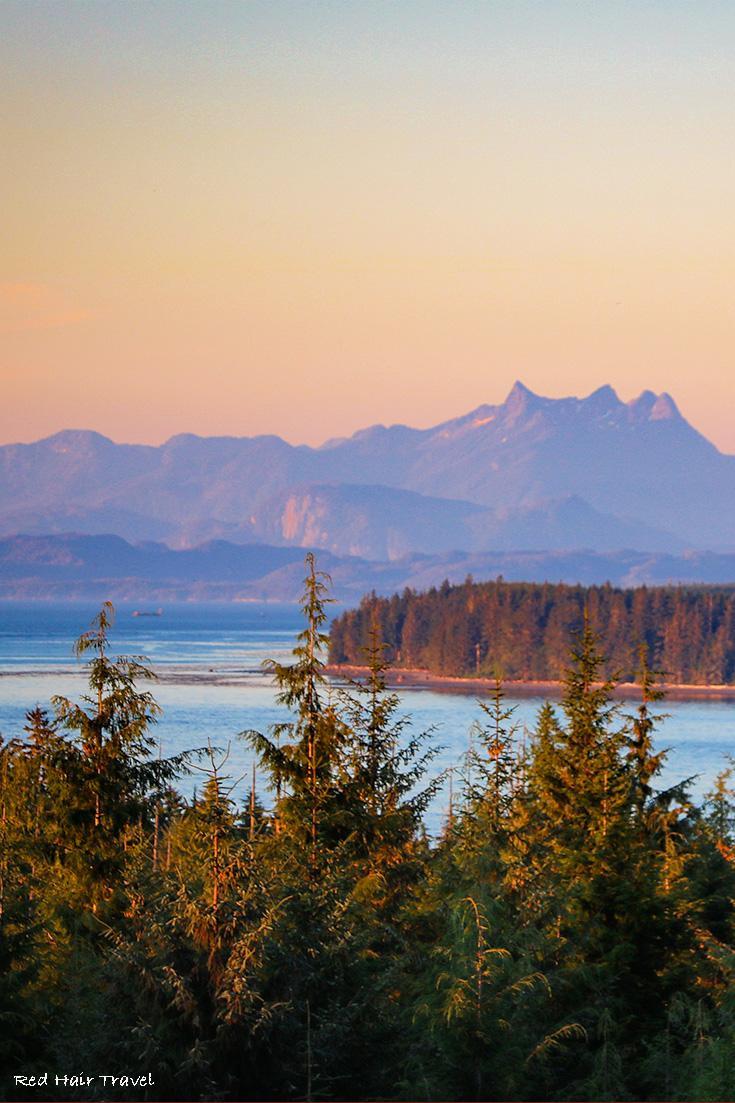North Vancouver Island Sunset