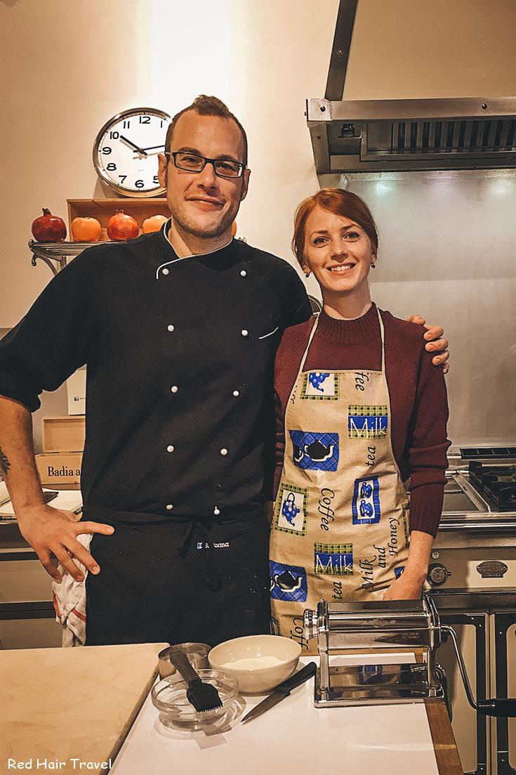 кулинарный мастер-класс во Флоренции