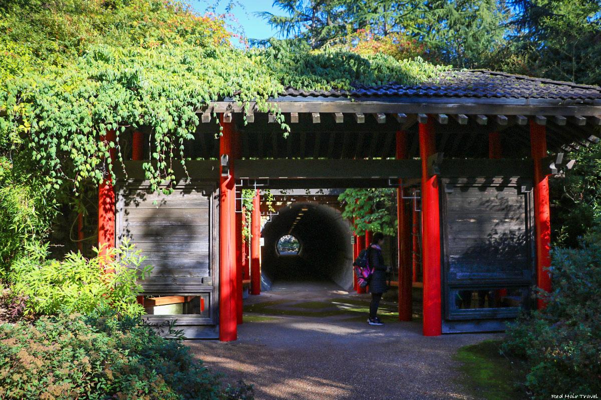 Лунные ворота, Ботанический сад UBC, Ванкувер