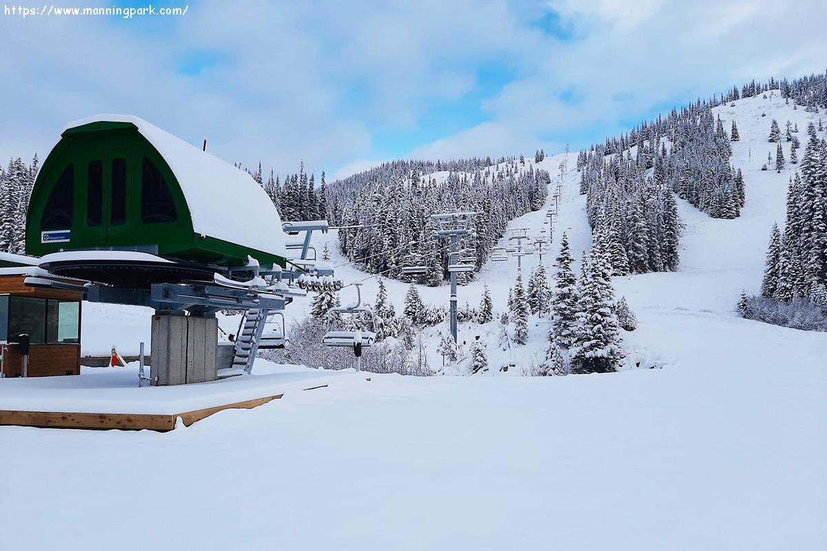 горнолыжный курорт manning park