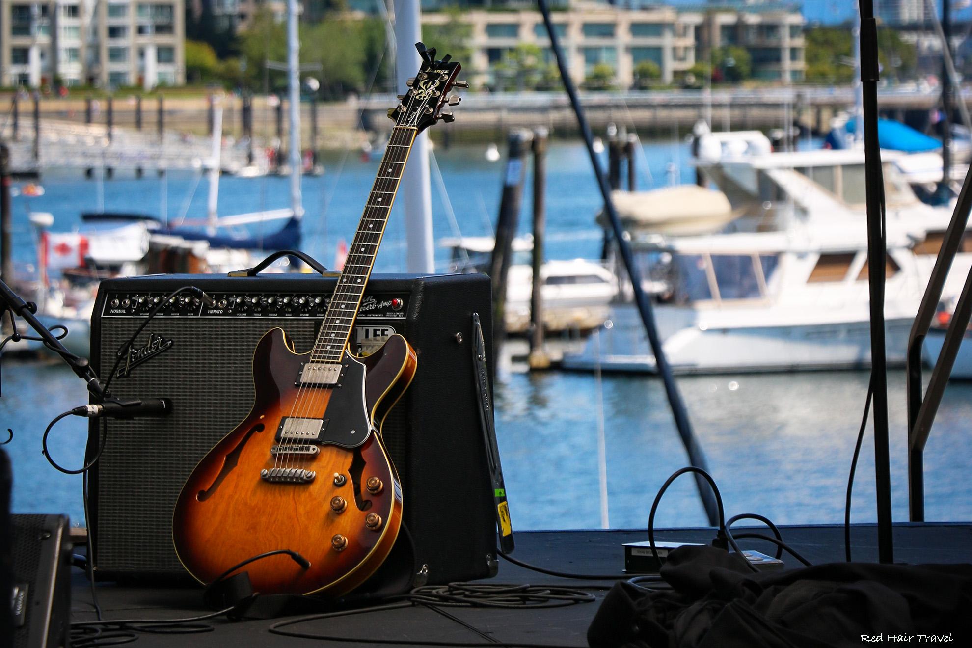 живая музыка в Ванкувере