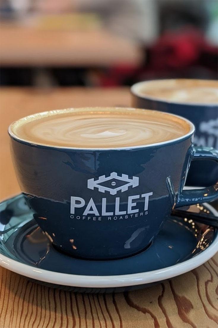 Pallete coffee