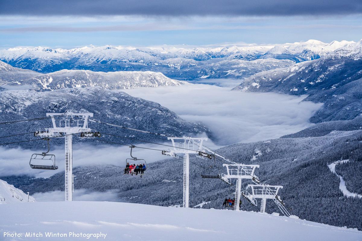 горнолыжный курорт Whistler