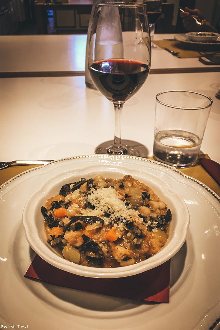 Традиционный тосканский хлебный суп