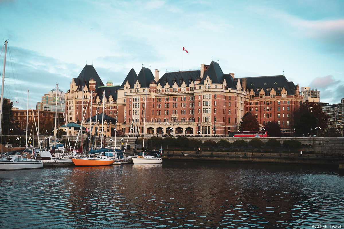 the empress hotel, victoria, afternoon tea
