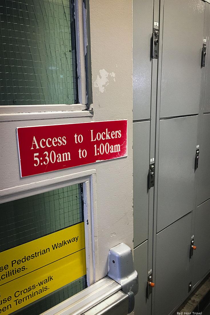 камера хранения в Торонто