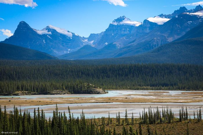 Howse Pass Viewpoint, Скалистые горы, маршрут по Скалистым Горам Канады