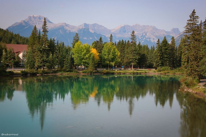 Банфф, маршрут по Скалистым Горам Канады