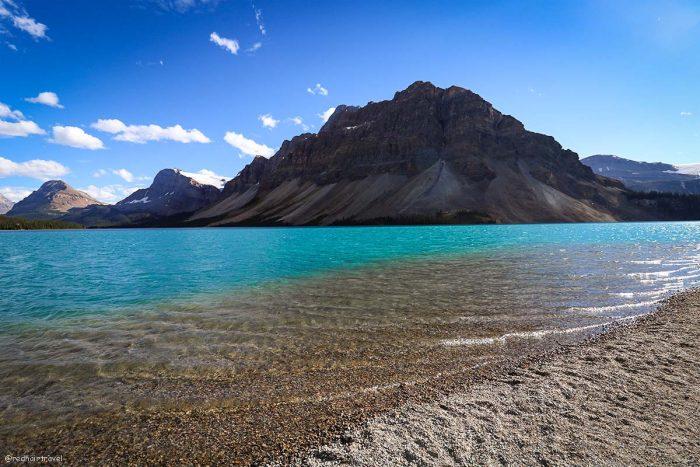 Bow Lake, Rockies, Canada, маршрут по Скалистым Горам Канады