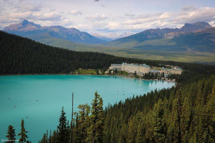 Lake Louise, маршрут по Скалистым Горам Канады