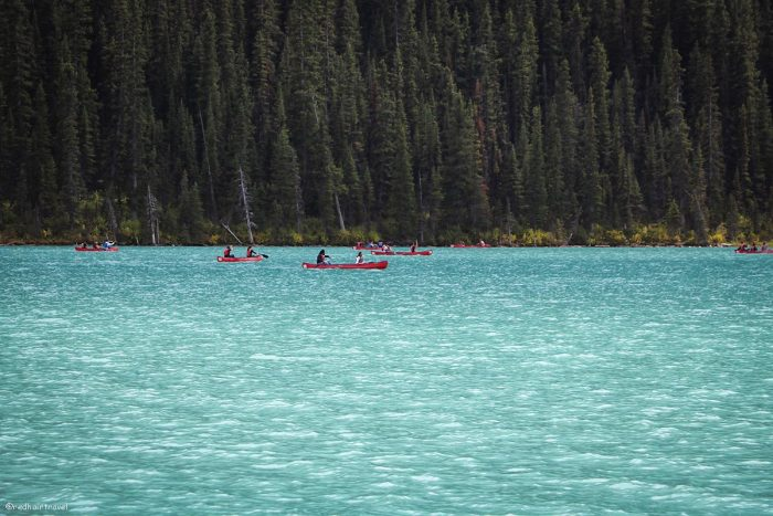 Lake Louise, Rockies, маршрут по Скалистым Горам Канады