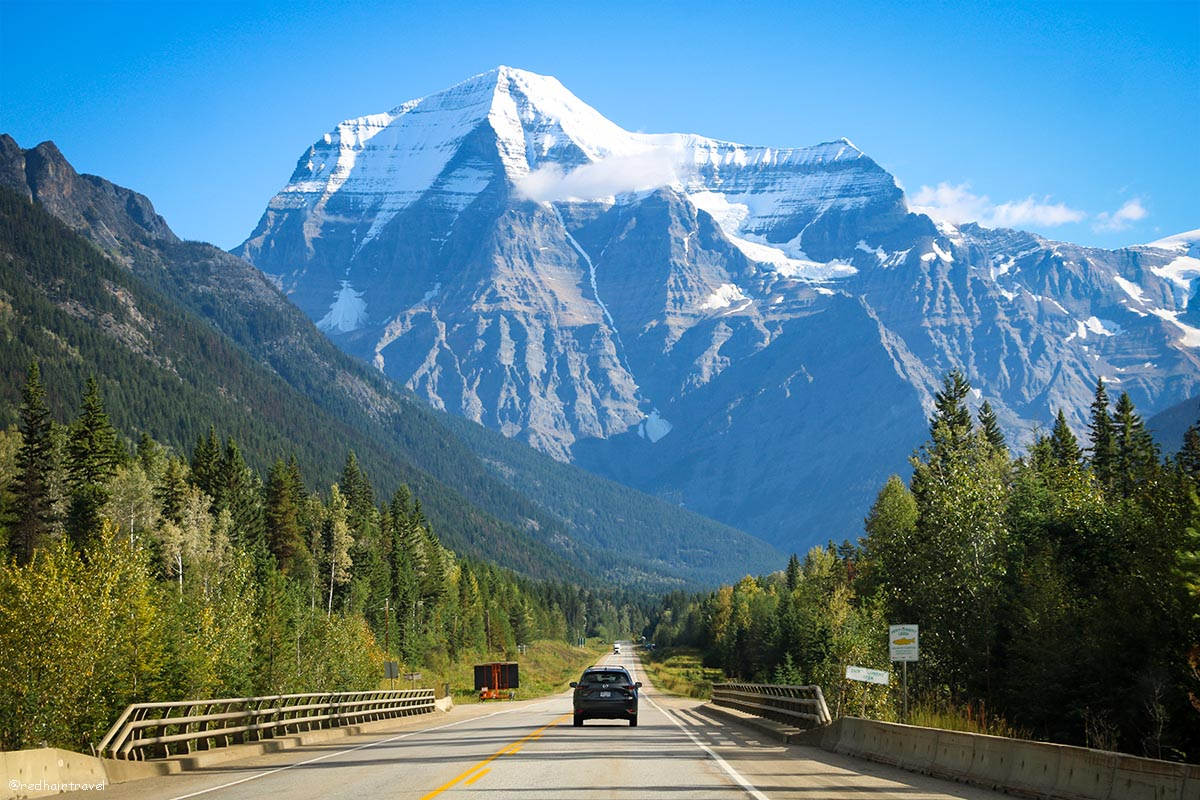 Гора Робсон, Канада
