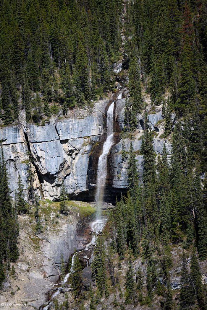 Скалистые горы, Канада, дорога из Джаспера в Банф, маршрут по Скалистым Горам Канады