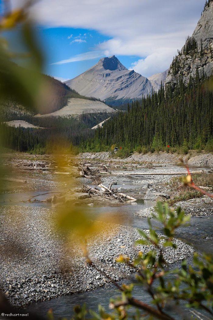 маршрут по Скалистым Горам Канады
