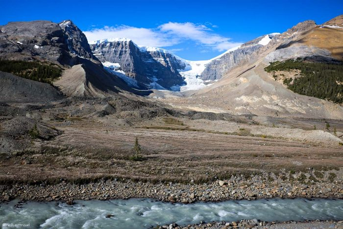 Stutfield Glacier Viewpoint, Rockies, Canada, Скалистые горы, маршрут по Скалистым Горам Канады