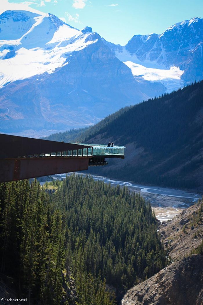 Columbia Icefield Skywalk, маршрут по Скалистым Горам Канады