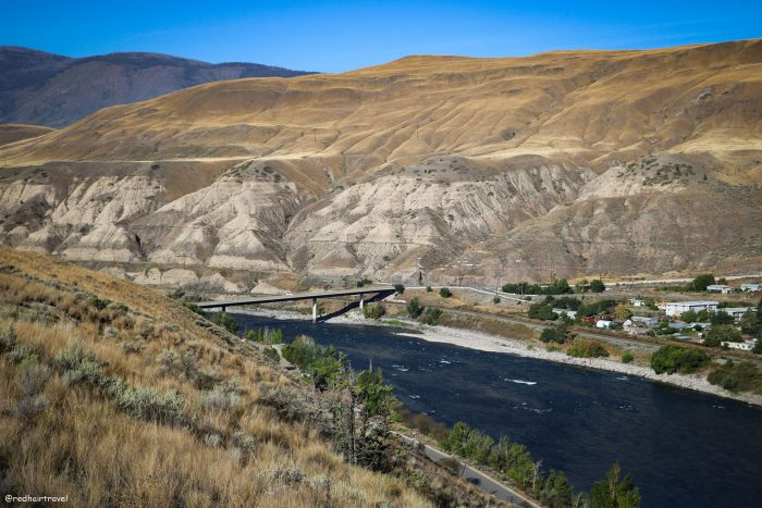 Ashcroft, маршрут по Gold Rush Trail