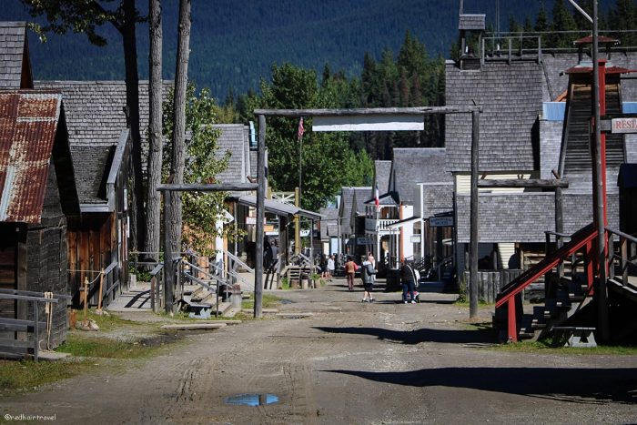 Barkerville, маршрут по Gold Rush Trail, BC