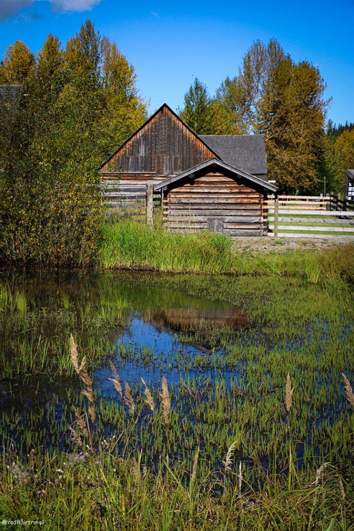 Cottonwood House, маршрут по Gold Rush Trail, BC