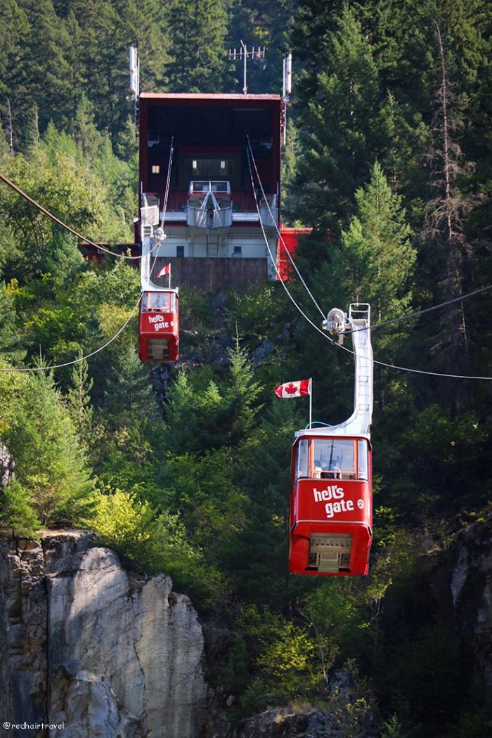 Hell's Gate Airtram, маршрут по Gold Rush Trail, BC