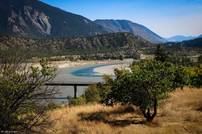 Lilloet, маршрут по Gold Rush Trail, BC